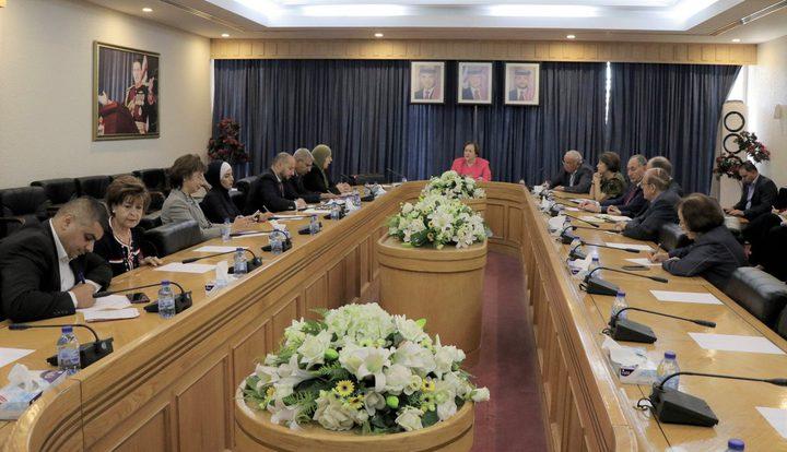 """لجنة فلسطين في """"الأعيان"""" الأردني تُدين جرائم الاحتلال في صور باهر"""
