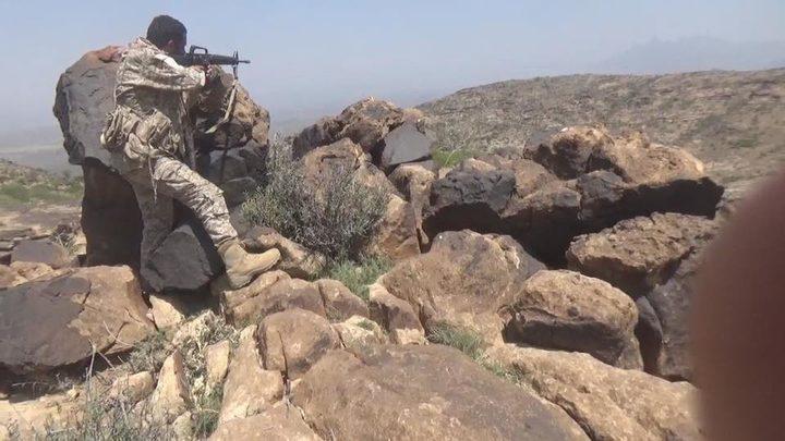 الجيش الوطني اليمني يتقدم لجبل ناصة الاستراتيجي بالضالع