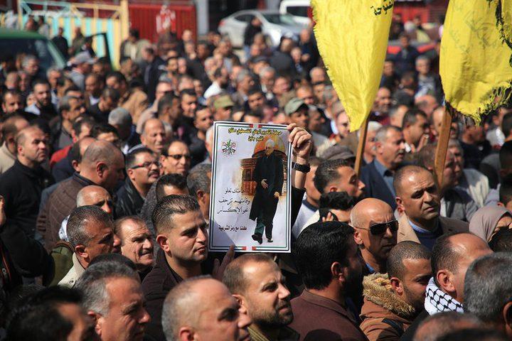 مساندة شعبية وفصائلية مع قرار الرئيس بالانفصال عن الاحتلال