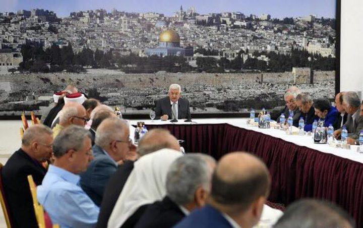 الرئيس عباس يعلن وقف العمل بالاتفاقيات مع الاحتلال الإسرائيلي
