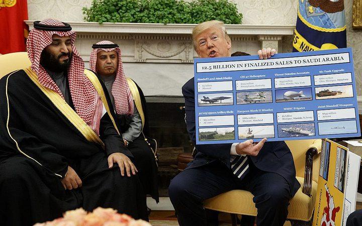"""""""فيتو"""" لترامب ضد وقف بيع أسلحة لدول عربية"""