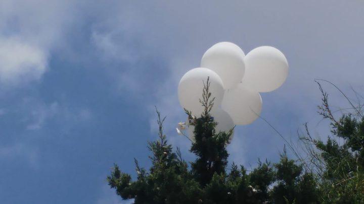 """الاحتلال يزعم سقوط عدد من البالونات في مستوطنة """"أشكول"""""""