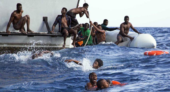 انقاذ 134 مهاجر غير شرعي قبالة السواحل الليبية