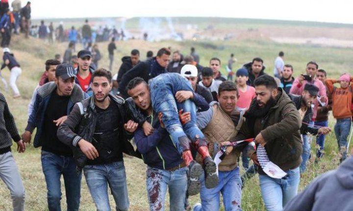 استشهاد شاب متأثراً بجروحه خلال مسيرات العودة في غزة