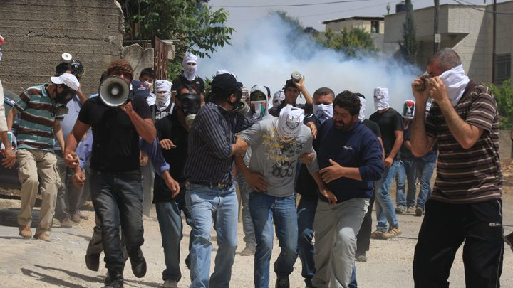 ثلاث إصابات جراء قمع الاحتلال مسيرة كفر قدوم الأسبوعية
