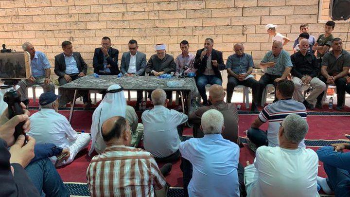 عشرات الإصابات خلال مواجهات في وادي الحمص