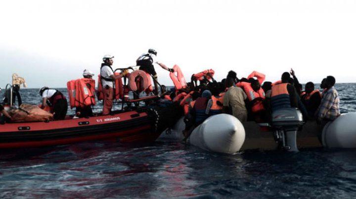 إنقاذ قارب قبالة سواحل ليبيا يقل فلسطينيين