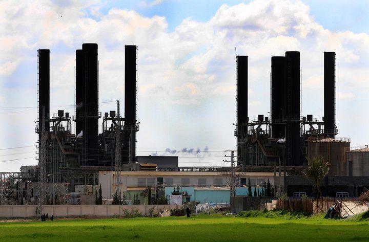 توقف مولد من أصل ثلاثة عن العمل بمحطة كهرباء غزة