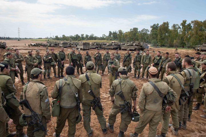 الاحتلال يبدأ تدريبات عسكرية في مستوطنات غلاف غزة