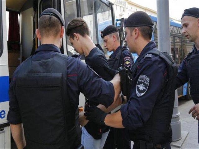اعتقال أكثر من 1300 شخص خلال احتجاجات بموسكو