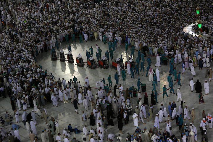 وصل ملايين الحجاج إلى مكة المكرمة بالسعودية ، ويقام هذا الحدث الشريف سنويا ًفي مكة المكرمة. حيث يجمع الحجاج من كافة أنحاء العالم هنا للمشاركة فيه.