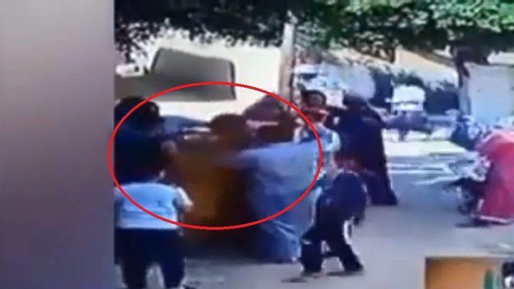 جريمة بشعة:شاب يحرق والده حياً
