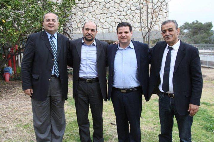 عودة يعلن عن وحدة الأحزاب العربية في قائمة مشتركة