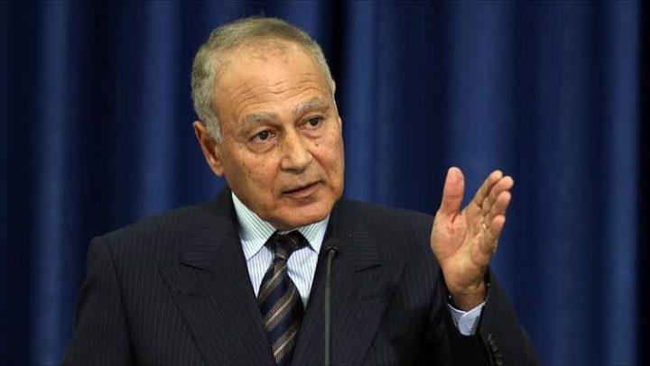 أبو الغيط يستنكر جرائم الاحتلال المتواصلة