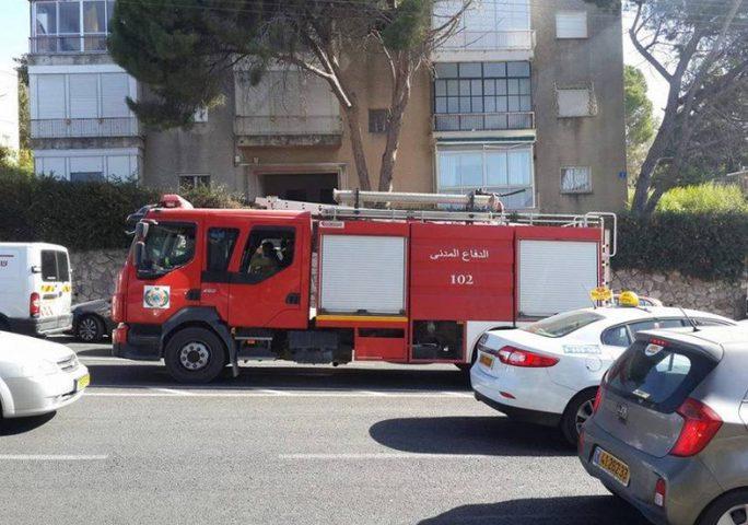 إخلاء عمارة سكنية في رام الله