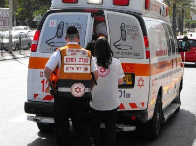 البوسطة التي تعرضت لحادث تصادم خالية من الأسرى الأمنيين