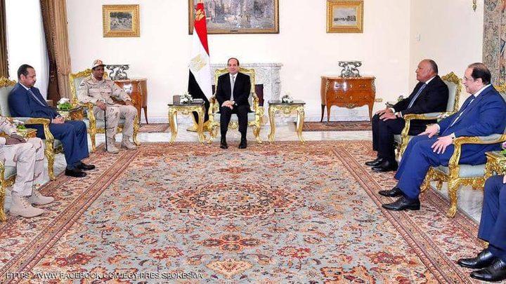 السيسي يؤكد موقف مصر الداعم للسودان