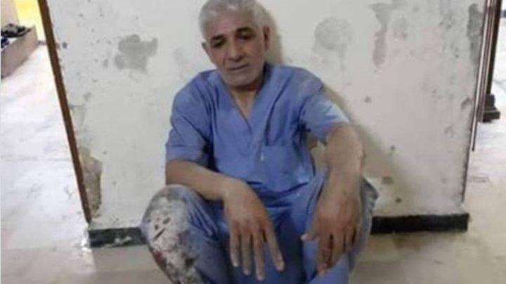 صورة طبيب سوري يغطيه الغبار تجتاح مواقع التواصل الاجتماعي