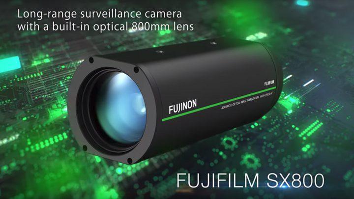 Fujifilm تطلق كاميرا مراقبة بقدرات فائقة!