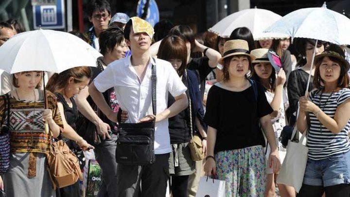 الحرارة المرتفعة تقتل 11 شخصا في اليابان