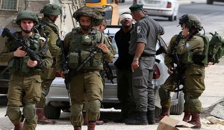 الاحتلال يعتقل 14 مواطنا في الضفة الغربية