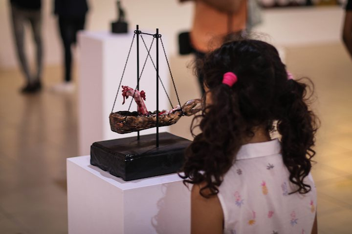 نظم الاتحاد العام للمراكز الثقافية ، معرضا فنيا ،يوم امس في مدينة غزة , وحضر المعرض الفني عدد من المواطنين ،والهواة ،والمختصين في هذا النوع من الفن .