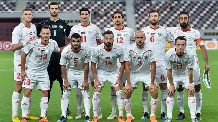منتخب فلسطين يفوز بهدف على اليمن في بطولة غرب آسيا