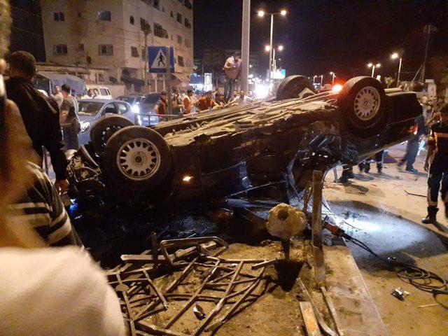 مصرع مواطنين في حادث مفجع غرب مدينة غزة