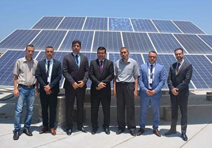 جوال ورابطة الخريجين المعاقين بصريًا يفتتحان مشروع الطاقة الشمسية