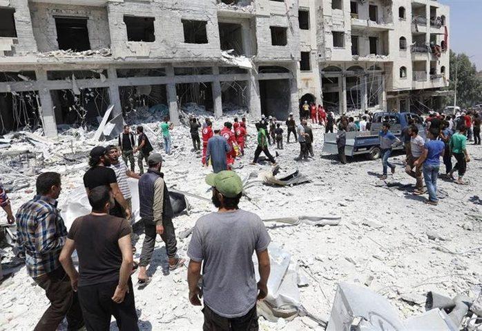 """مسؤول أممي يحذر من """"كارثة إنسانية"""" غير مسبوقة في إدلب"""