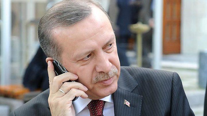 أردوغان يجري اتصالاً هاتفياً مع العاهل السعودي