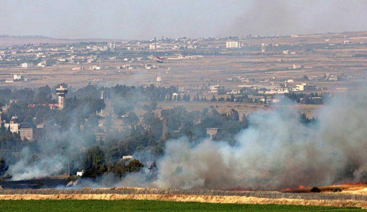 هجوم صاروخي إسرائيلي على تل بريقة في سوريا