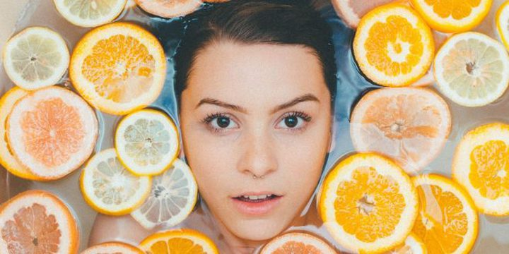 قشر البرتقال لجمالك