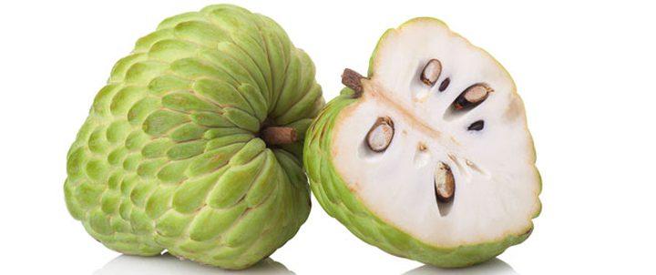 فاكهة القشطة مصدر غني للحامل