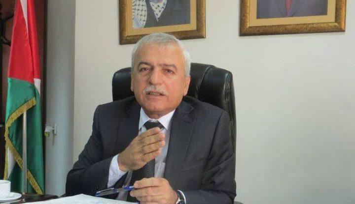 الوزير شكارنة: نعمل في أكثر من 123 موقعا في الضفة الغربية