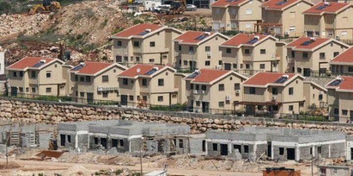 الاحتلال يعيد بناء آلاف الوحدات الاستيطانية