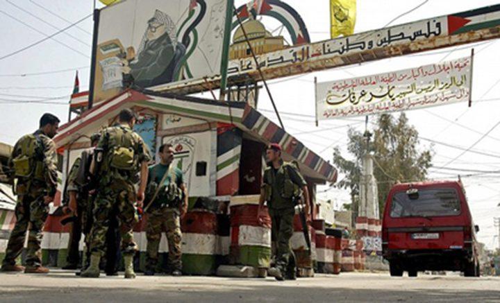 اغتيال فلسطيني في مخيم عين الحلوة أثناء مشاركته في مسيرة احتجاجية