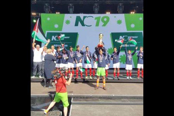 فريق كنعان للأشبال يفوز بالمركز الأول ببطولة النرويج الدولية