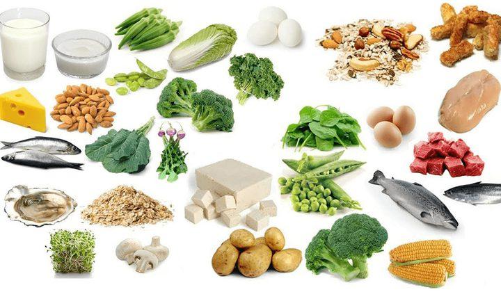 أطعمة تحتوي على الكاليسوم
