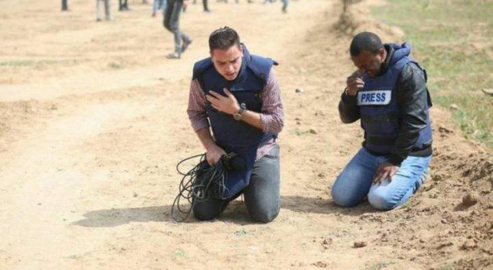 نقابة الصحفيين تدين استهداف الصحفيين في غزة والقدس