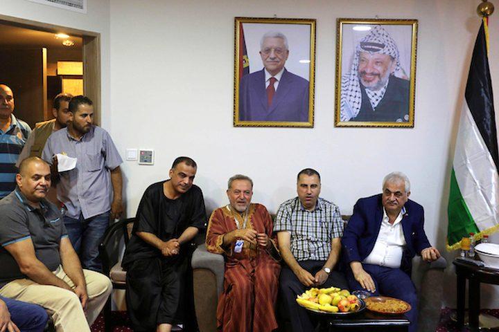 وفد من وزارة الأوقاف الفلسطينية يزور الحجاج، في مكة المكرمة ،ويتابع أوضاعهم عن كثب.
