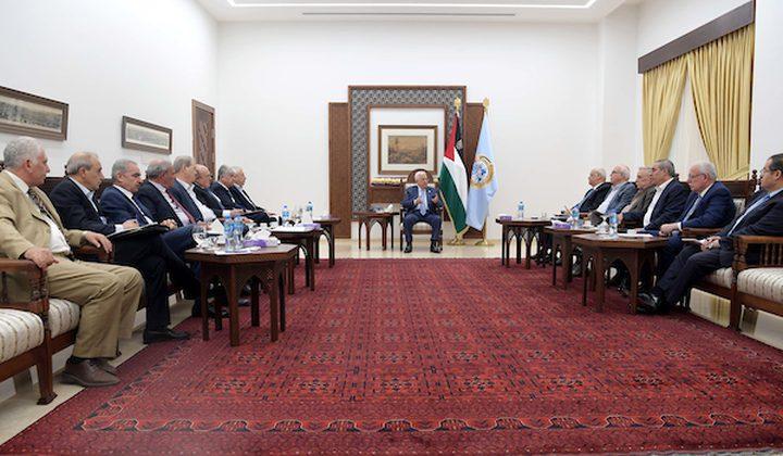 الرئيس يترأس اجتماع اللجنة المكلفة بتنفيذ قرار وقف الاتفاقات