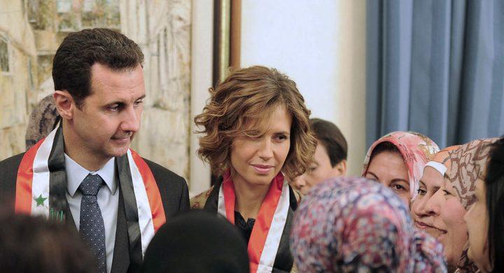 أسماء الأسد تتعافى من مرض السرطان