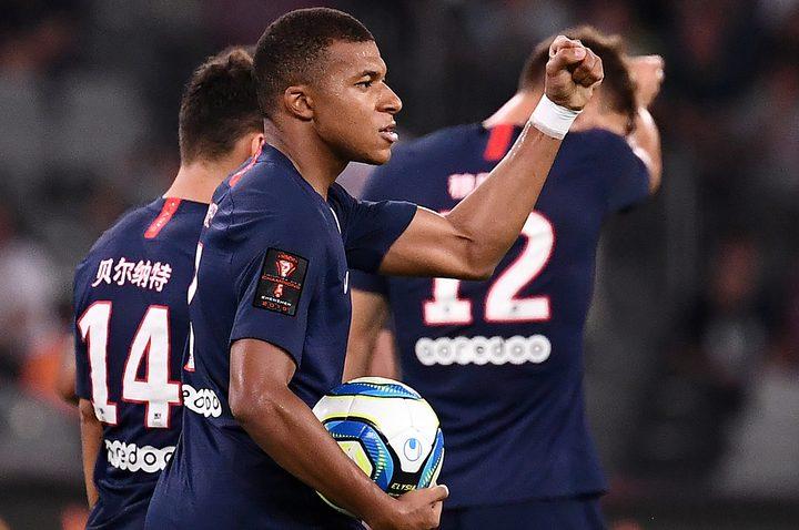 باريس سان جيرمان بطلاً لكأس السوبر الفرنسي