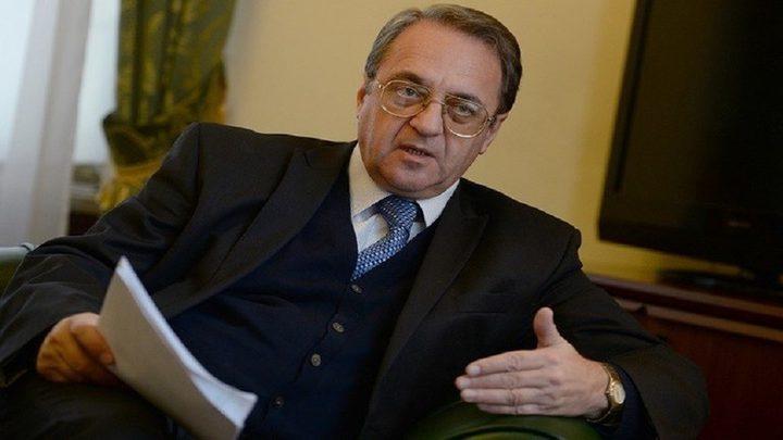 بوغدانوف يناقش الوضع السائد حاليا في لبنان