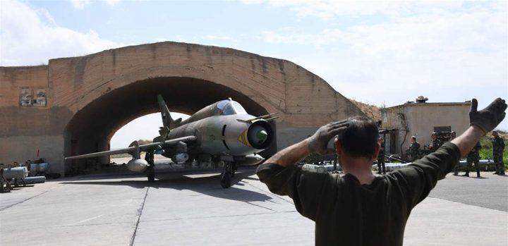قتلى وجرحى في انفجار بمطار الشعيرات العسكري بسوريا