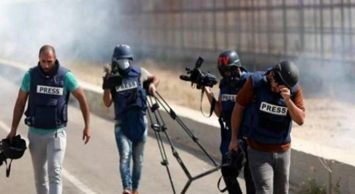 التجمع الديمقراطي يستنكر ويدين استهداف الصحفيين في القدس وغزة