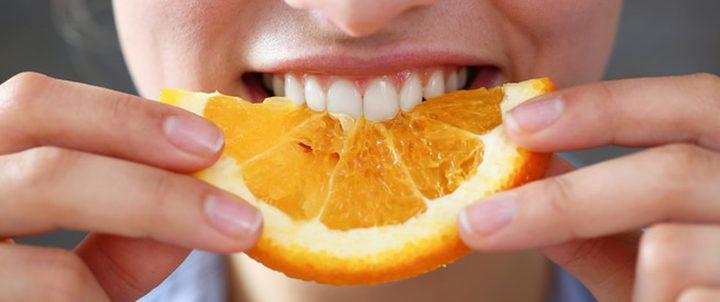 البرتقال يحميك من العمى
