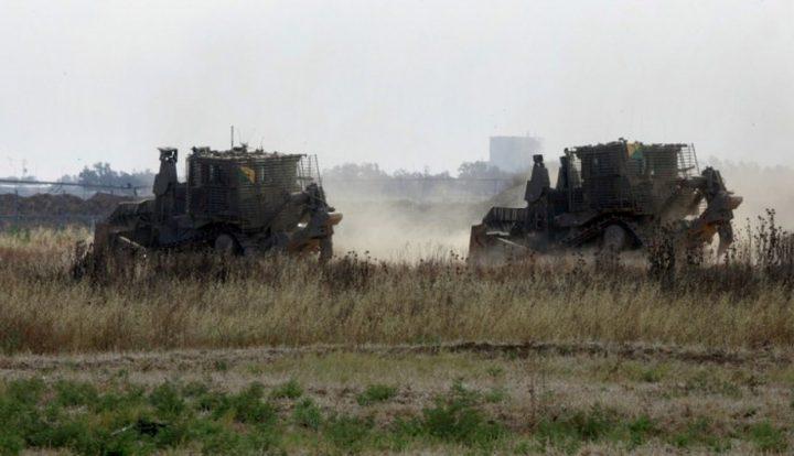 آليات عسكرية إسرائيلية تتوغل شرق البريج وسط قطاع غزة