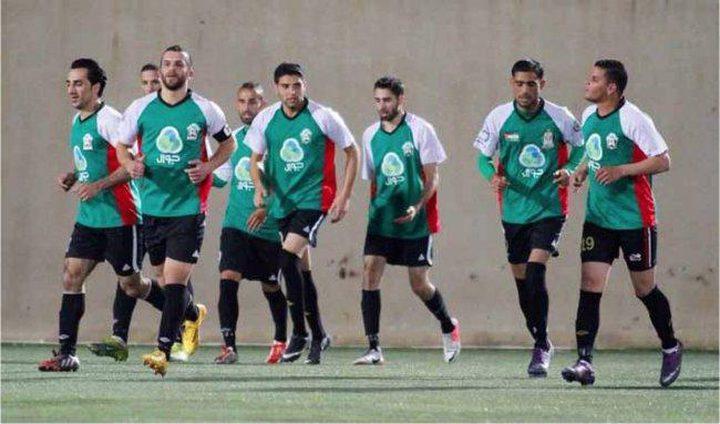إلغاء المباراة الودية بكرة القدم بين جبل المكبر والوحدات